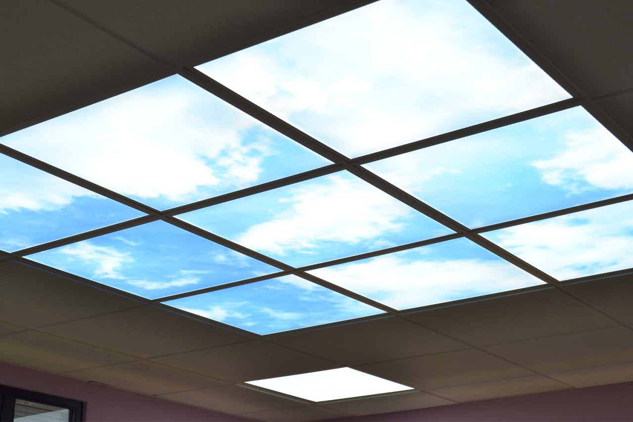 Blue Sky LED Ceiling Lighting